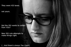 Innocent Spouse Relief with the IRS